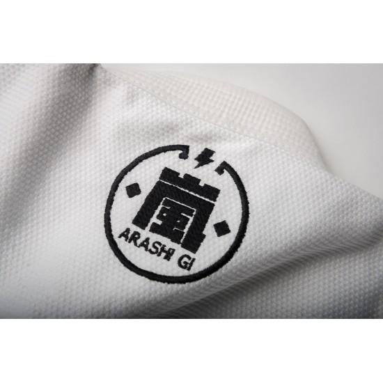 Arashi BJJ Gi White