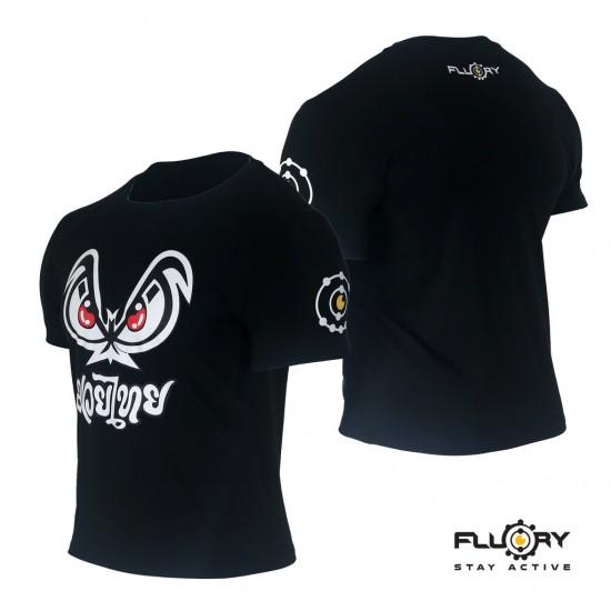Fluory Combat Sports Mad Eyes Black