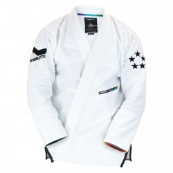 StarLyte 2 By Hyperfly - Jiu Jitsu Gi - Black on White