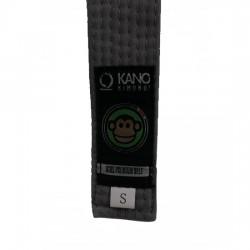 Kano Kids Gi Belt Grey