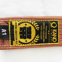 Kano Premium Belt Brown