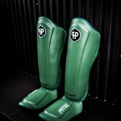 Pryde Shin Guards Green